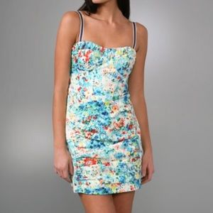 Nanette Lepore - honeysuckle ruched dress